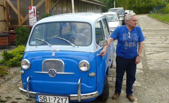 Fiat 600 Multipla pana Jacka
